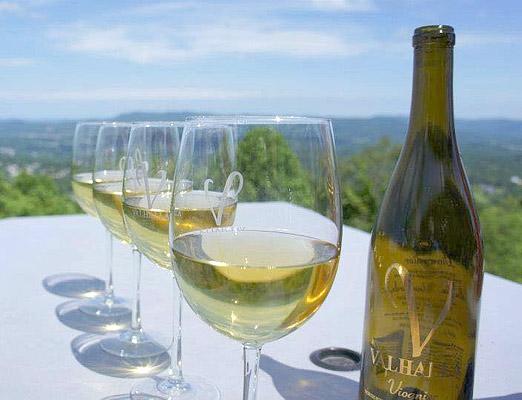 Valhalla Vineyards in Roanoke Virginia